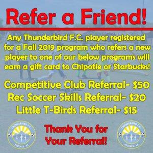 Register Now! | Thunderbird Football Club